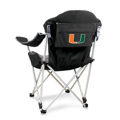 Miami Hurricanes Reclining Camp Chair