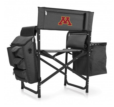 Minnesota Golden Gophers Grey\Black Fusion Tailgating Chair