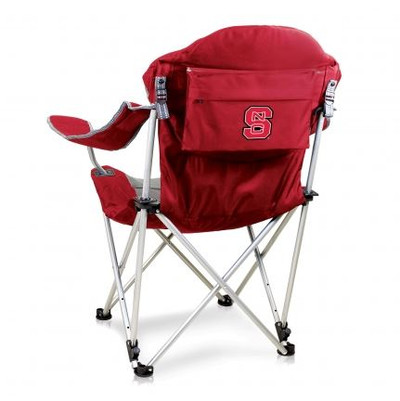 NC State Wolfpack Reclining Camp Chair - Red
