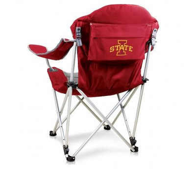 Iowa State Cyclones Reclining Camp Chair - Red