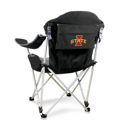 Iowa State Cyclones Reclining Camp Chair - Black