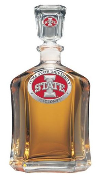 Iowa State Cyclones Capitol Decanter