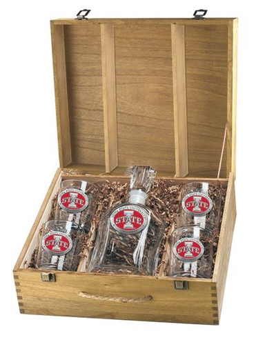 Iowa State Cyclones Decanter Boxed Set