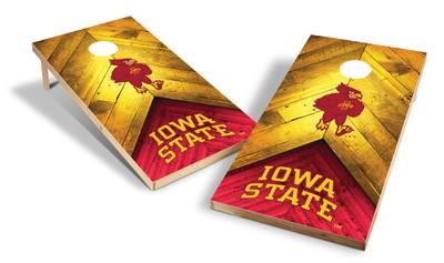 Iowa State Cyclones Premium Shield Cornhole Boards
