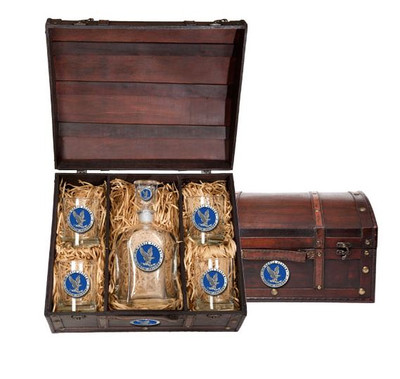 Air Force Academy Capitol Decanter Chest Set