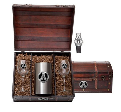 Appalachian State Mountaineers Wine Chest Set