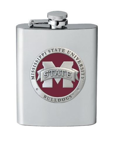 "Mississippi State Bulldogs Flask - ""M"" Logo"