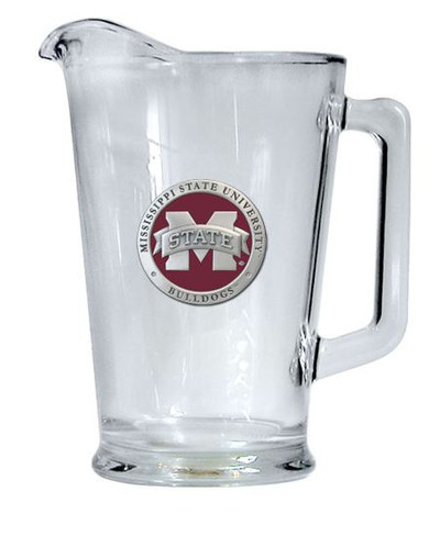 """Mississippi State Bulldogs Beer Pitcher - """"M"""" Logo"""