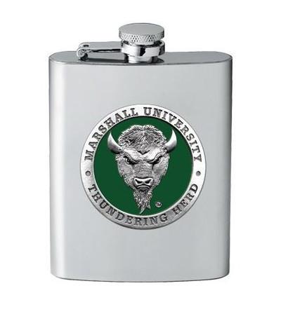 Marshall Thundering Herd Flask