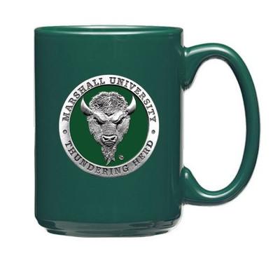 Marshall Thundering Herd Coffee Mug Set of Two