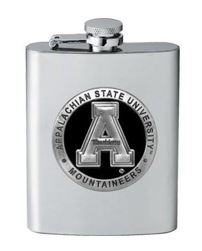 Appalachian State Mountaineers Flask