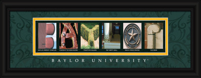 Baylor Bears Letter Art | Get Letter Art | CLAL1B18BAYL
