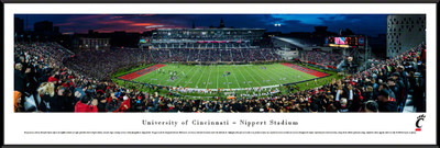 Cincinnati Bearcats Standard Frame Panoramic Photo