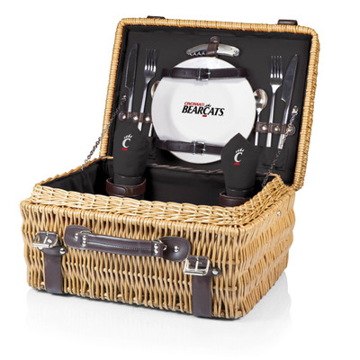 Cincinnati Bearcats Champion Picnic Basket - Black