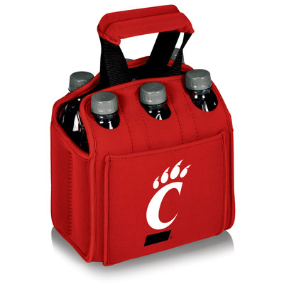 Cincinnati Bearcats 6-Pack Cooler Caddy Tote - Red