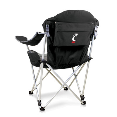 Cincinnati Bearcats Reclining Camp Chair - Black