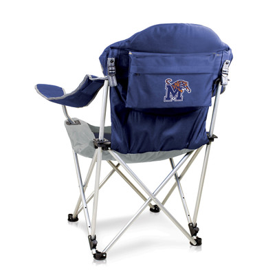 Memphis Tigers Reclining Camp Chair
