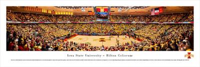 Iowa State Cyclones Panoramic Photo Print - Basketball
