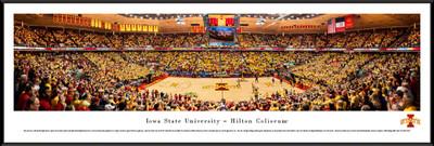Iowa State Cyclones Standard Frame Panoramic Photo - Basketball