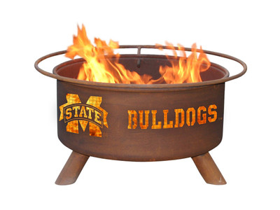 Mississippi St. Bulldogs Portable Fire Pit Grill