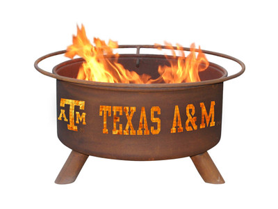 Texas A&M Aggies Portable Fire Pit Grill