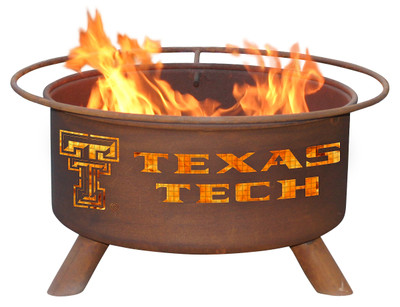 Texas Tech Red Raiders Portable Fire Pit Grill