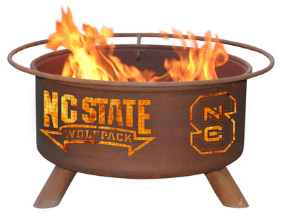 NC State Wolfpack Portable Fire Pit Grill