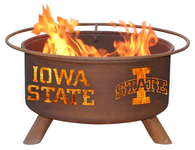 Iowa State Cyclones Portable Fire Pit Grill