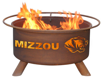 Missouri Tigers Portable Fire Pit Grill