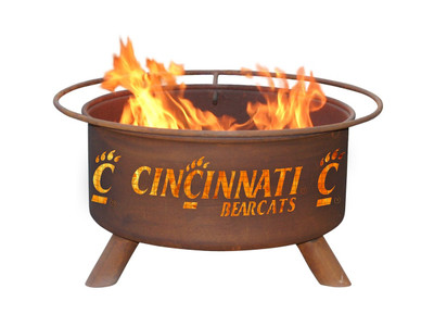 Cincinnati Bearcats Portable Fire Pit Grill