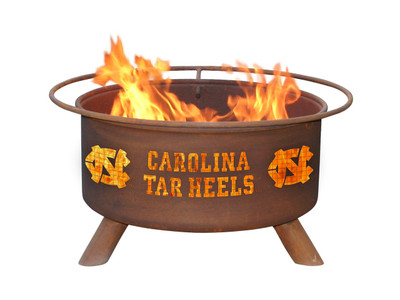 UNC Tarheels Portable Fire Pit Grill