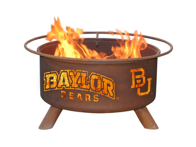 Baylor Bears Portable Fire Pit Grill