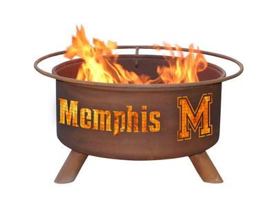 Memphis Tigers Portable Fire Pit Grill