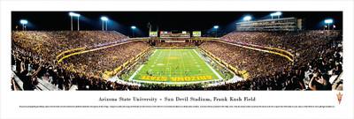 Arizona State Sun Devils Panoramic Photo Print - End Zone