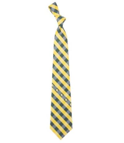 Baylor Bears Woven Poly Check Tie