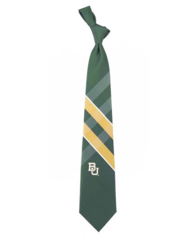 Baylor Bears Woven Poly Grid Tie