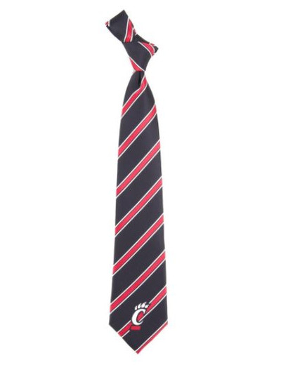 Cincinnati Bearcats Woven Poly Tie