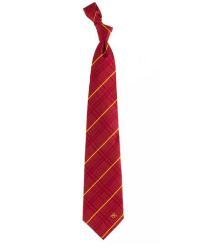 Iowa State Cyclones Oxford Woven Silk Tie