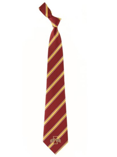 Iowa State Cyclones Woven Poly Tie