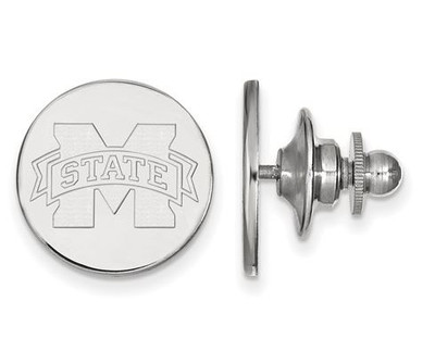 Mississippi State University Sterling Silver Lapel Pin