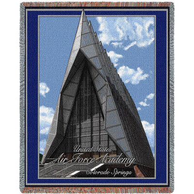 Air Force Academy Cadet Chapel Stadium Blanket | Pure Country | 5044-T