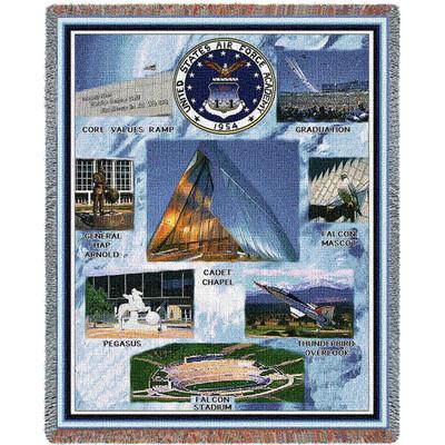 Air Force Academy Campus Stadium Blanket