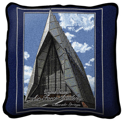 Air Force Academy Cadet Chapel Pillow   Pure Country   5044-P