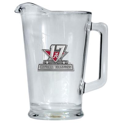 2017 National Champions Alabama Crimson Tide Beer Pitcher