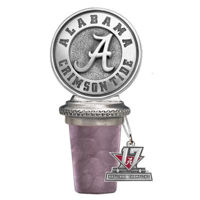 2017 National Champions Alabama Crimson Tide Bottle Stopper