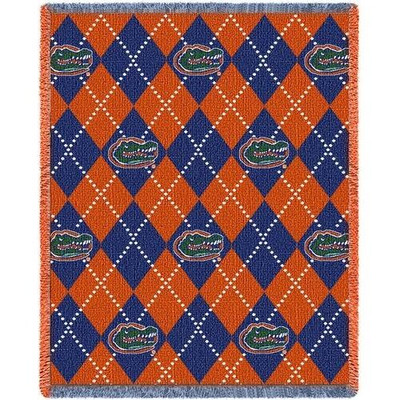 Florida Gators Argyle Stadium Blanket