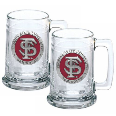 FSU Seminoles Beer Mug Set of Two