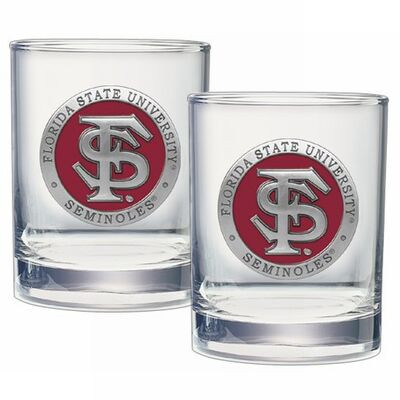 FSU Seminoles Cocktail Glasses
