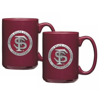 FSU Seminoles Coffee Mug Set of 2