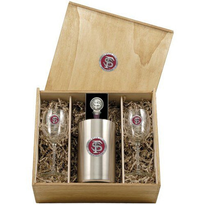 FSU Seminoles Wine Set